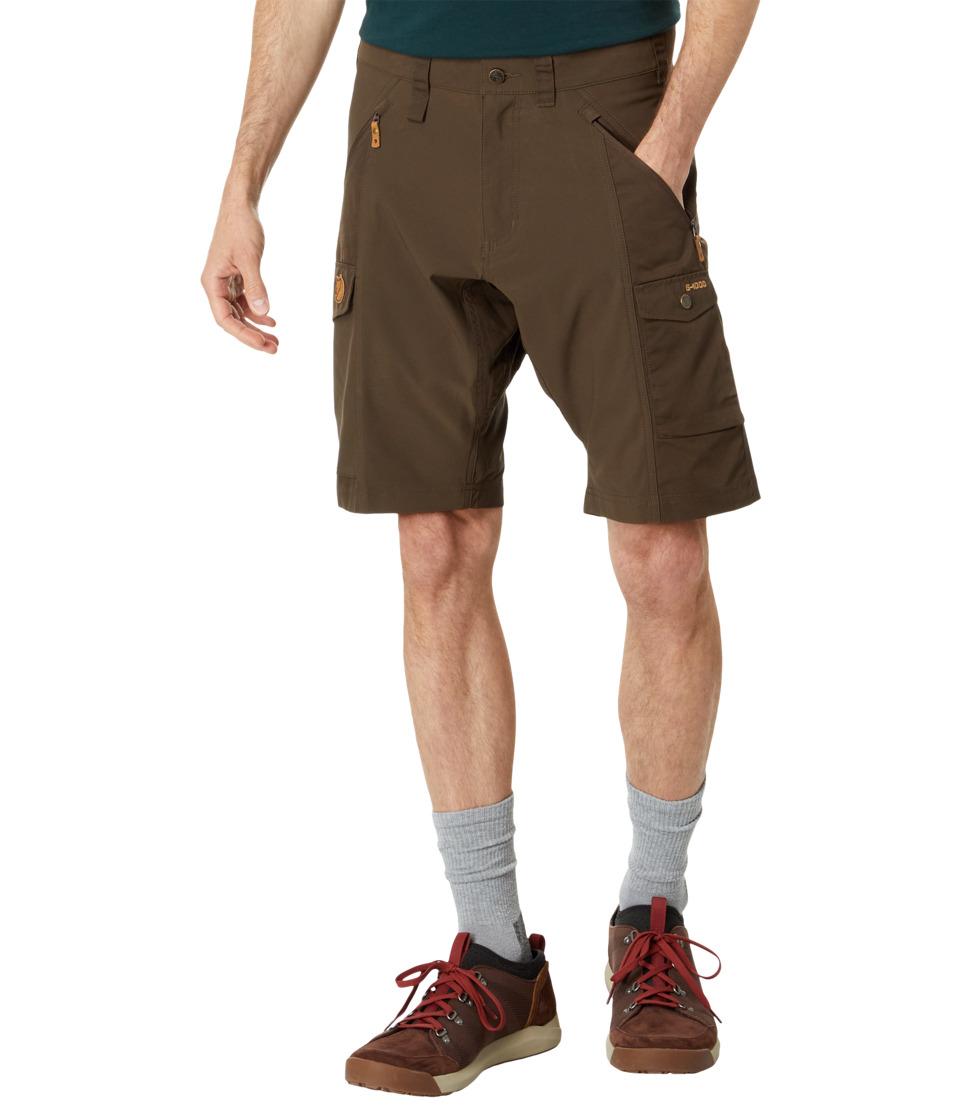 Fj llr ven - Abisko Short (Dark Olive) Men's Shorts