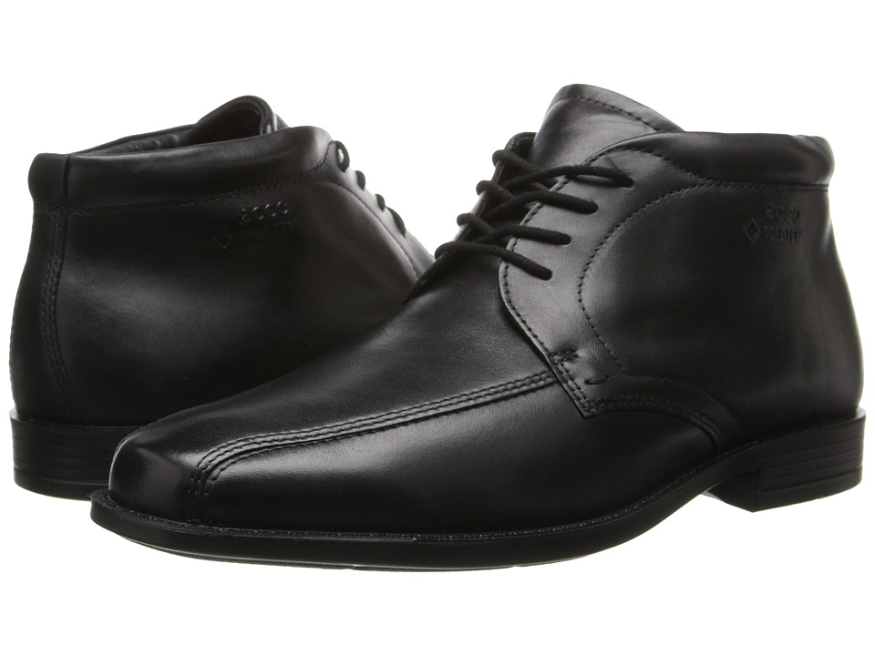 ECCO Edinburgh GTX Boot (Black Luxe) Men