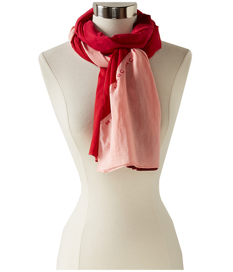 Marc by Marc Jacobs - Deco Printed Scarf (Strawberry Daiquiri Multi) Scarves