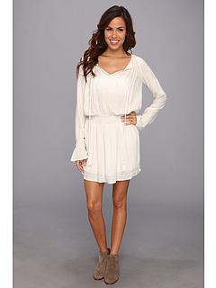 SALE! $61.99 - Save $65 on LAmade Boho Embellished Dress (Off White) Apparel - 51.19% OFF $127.00