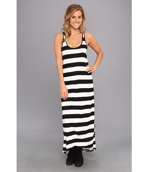Volcom - Get Low Dress (Black Combo) Women's Dress