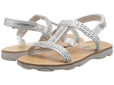Rachel Kids - Jadyn (Toddler/Little Kid) (Silver Metallic) Girls Shoes
