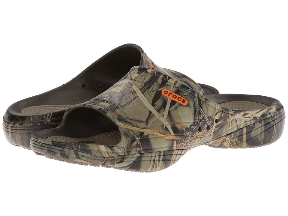 ecbbd7d1d21583 UPC 887350205800 product image for Crocs Modi 2.0 Realtree Max-4 Slide  (Chocolate  ...