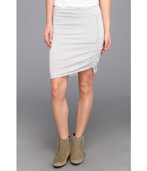 Free People - Lots O Knots Skirt (Light Grey Heather) Women