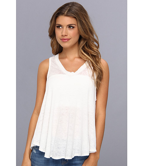 Free People - Breezy Tank (White) Women