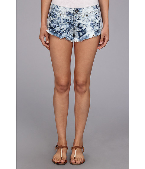 Volcom - Chonies Denim Short (Acid) Women's Shorts