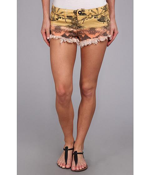 Volcom - Chonies Denim Short (Citron) Women's Shorts