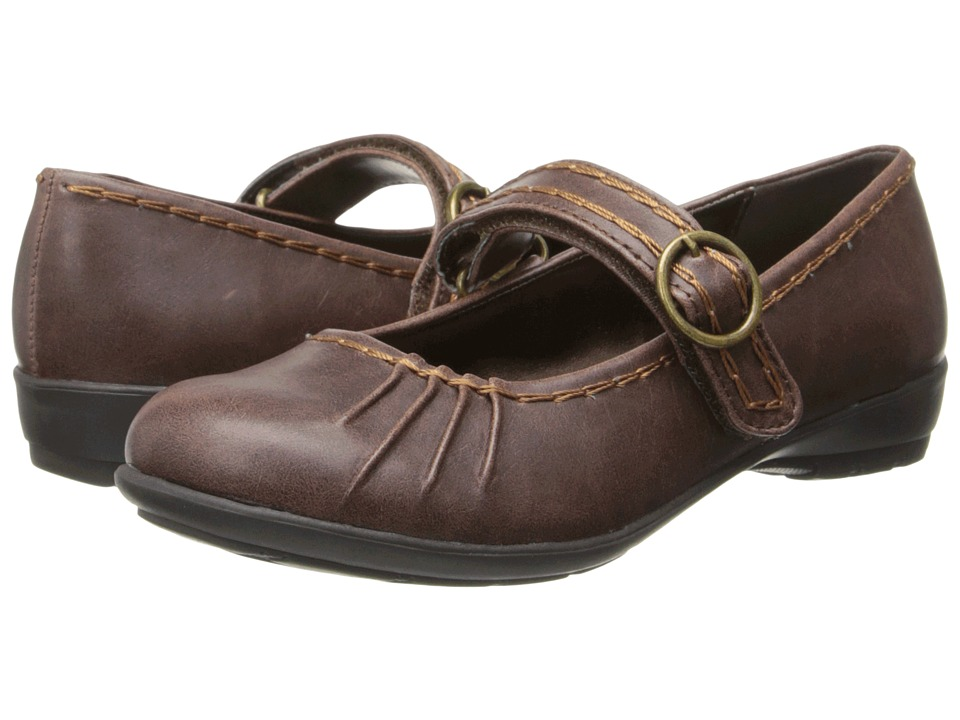 Kenneth Cole Reaction Kids - Rock-A-Fly (Little Kid/Big Kid) (Dark Brown Burnished) Girls Shoes