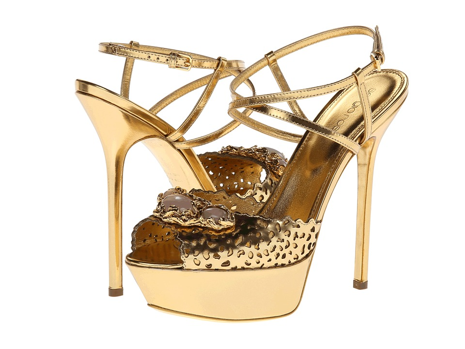 Sergio Rossi - Sandal (Ciad/New Gold) Women