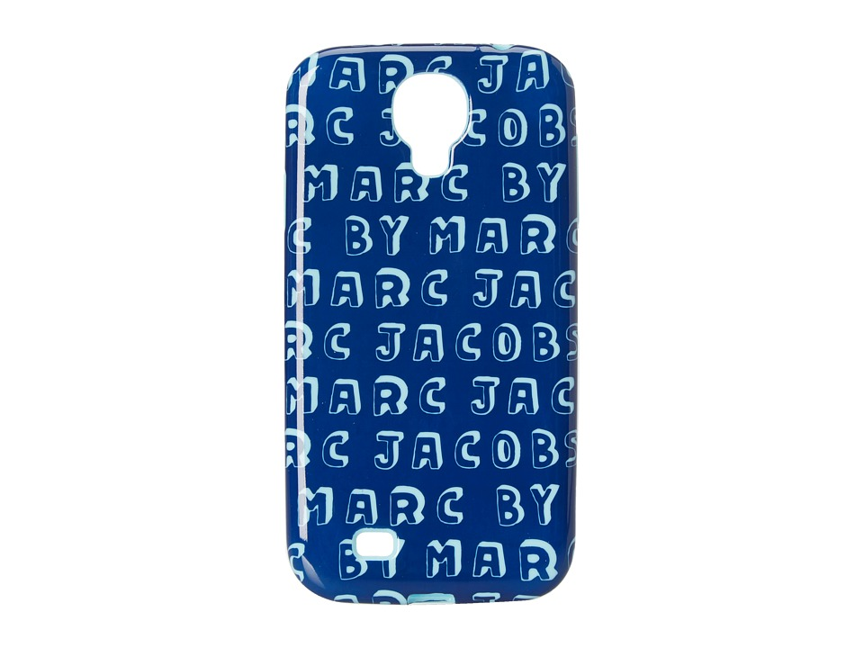 Marc by Marc Jacobs - Dynamite Logo Phone Case for Samsung Galaxy S 4 (Bright Blue Multi) Cell Phone Case