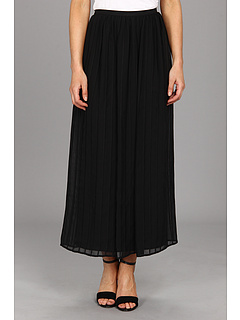 SALE! $96.99 - Save $33 on Calvin Klein Pinktuck Maxi Polyester Chiffon Skirt (Black) Apparel - 25.10% OFF $129.50
