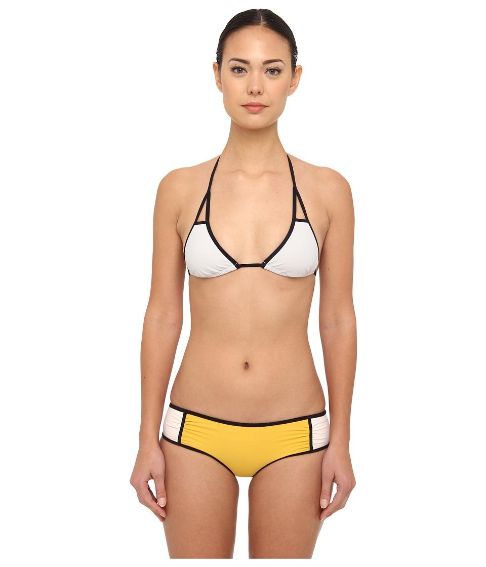 Chloe - 9664B017123 (Yellow) Women's Swimwear Sets