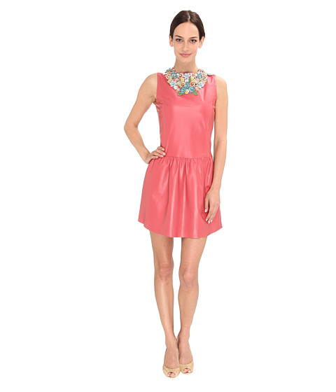 RED VALENTINO - GRAVP80A-VP0063R (Raspberry) Women's Dress
