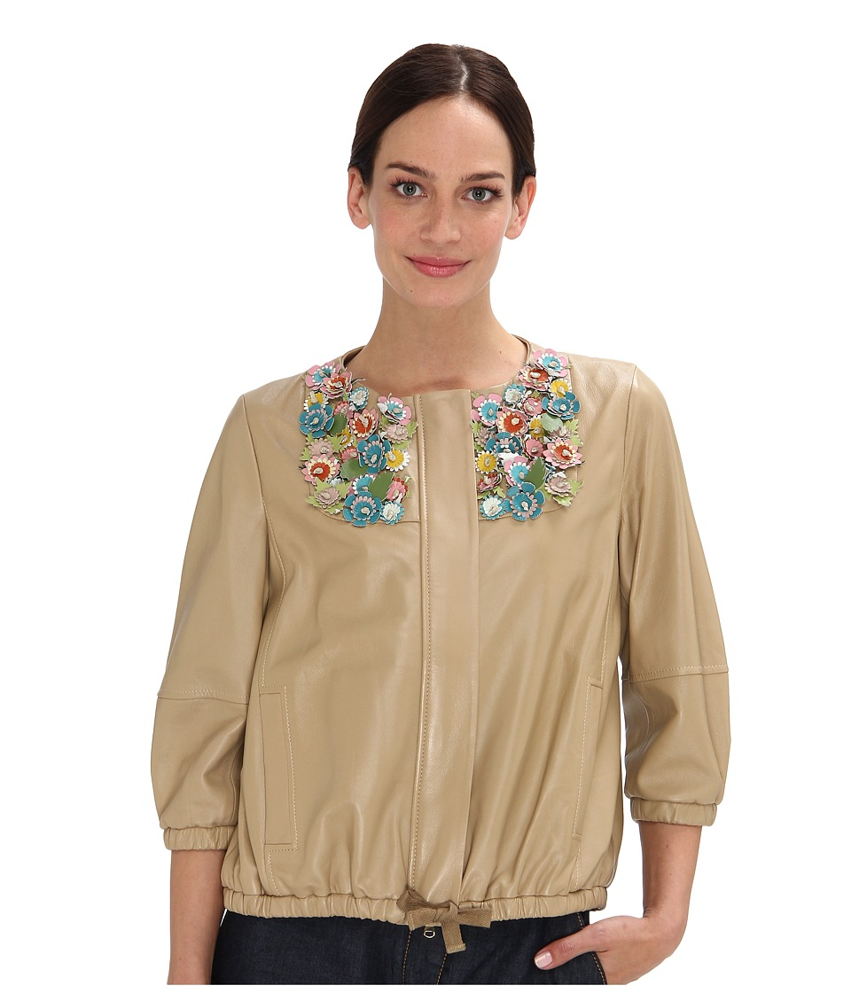 RED VALENTINO - GRA5P85A-VP0065R (Natural) Women's Jacket