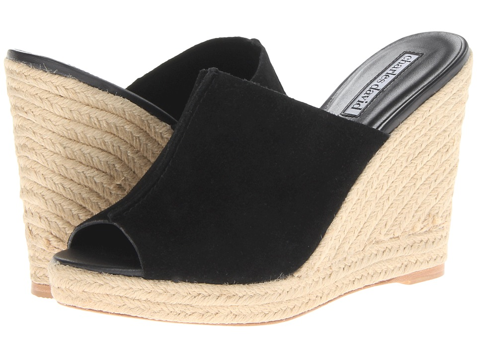 Charles by Charles David - Olexa (Black Suede) Women's Wedge Shoes