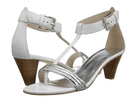 Donald J Pliner - Viva (Silver/White/White) High Heels