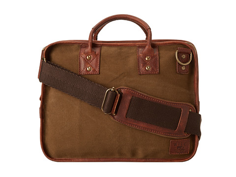 Will Leather Goods - Aldridge Satchel (Tabac) Messenger Bags