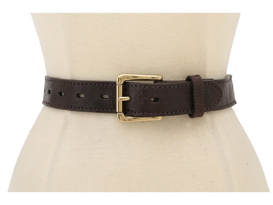Will Leather Goods - Umpqua Beaded Belt (Brown) Belts