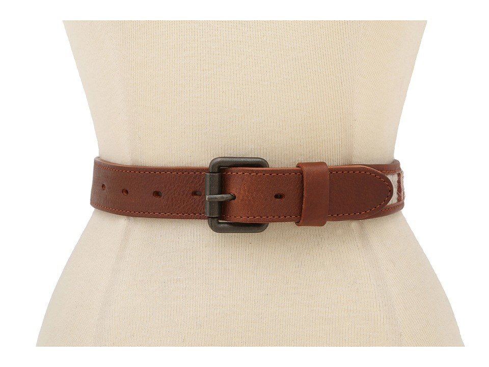 Will Leather Goods - Oaxacan Wool Belt (Cognac) Belts