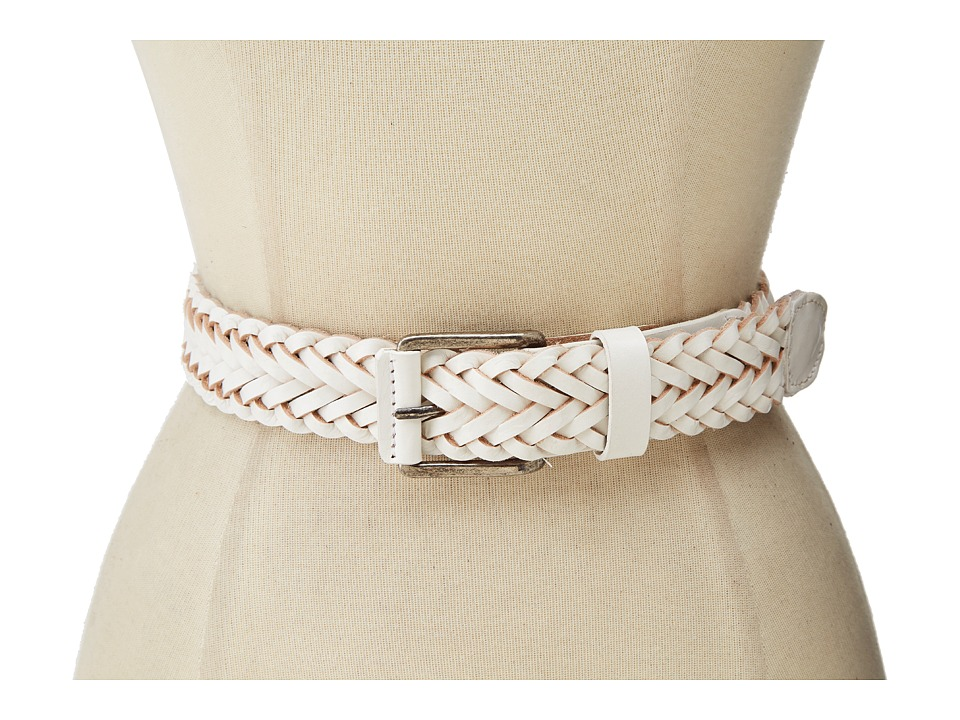 Will Leather Goods - Beulah Belt (White) Women's Belts