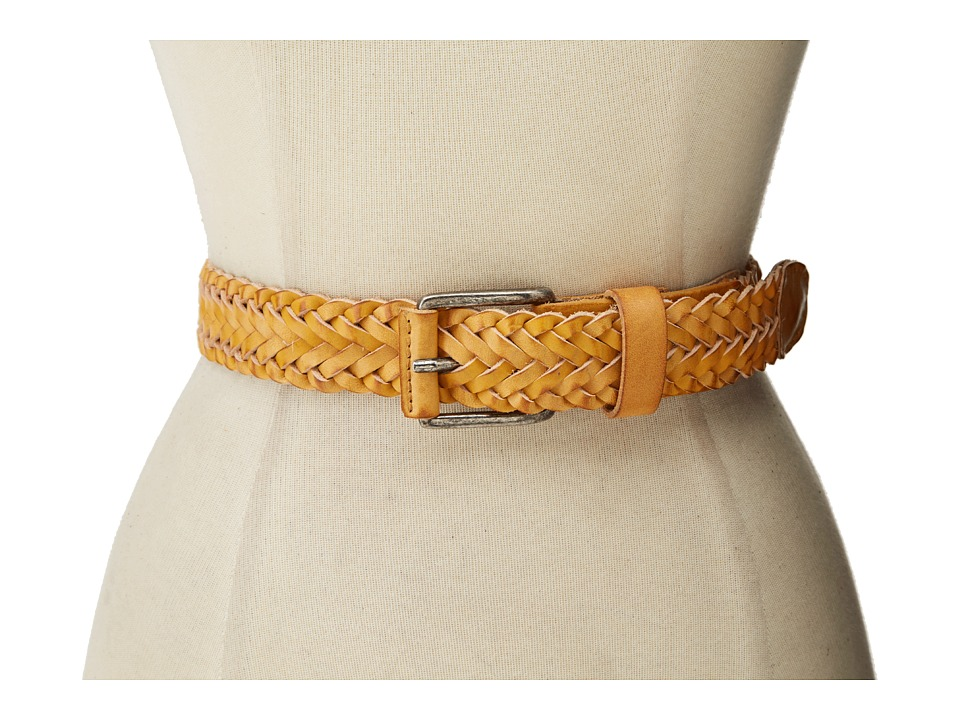 Will Leather Goods - Beulah Belt (Yellow) Women's Belts