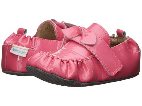 Robeez - Fancy Pants (Infant/Toddler) (Pink) Girls Shoes