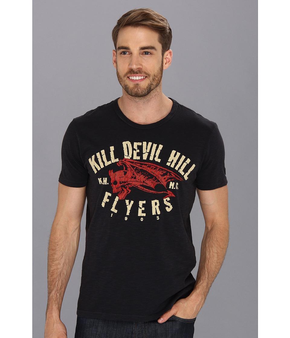 Lucky Brand Jomo  Kill Devil Mens Short Sleeve Pullover (Black)