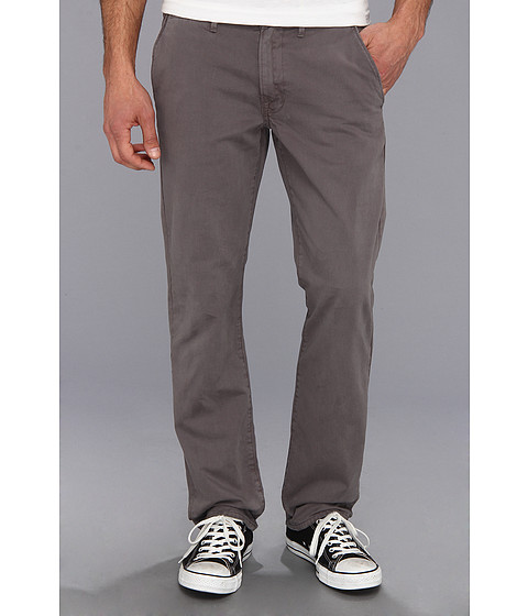 Lucky Brand - 121 Sun Faded Chino (Grey Wash) Men's Casual Pants