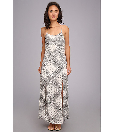 Volcom - Fuel Dress (White) Women's Dress