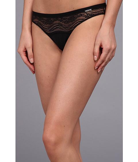 Calvin Klein Underwear - Infinite Lace Bikini Bottom (Black) Women's Underwear