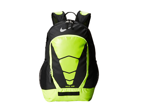 96b501155f3690 UPC 885259885864 product image for Nike Max Air Vapor Backpack  (Black Volt Metallic ...