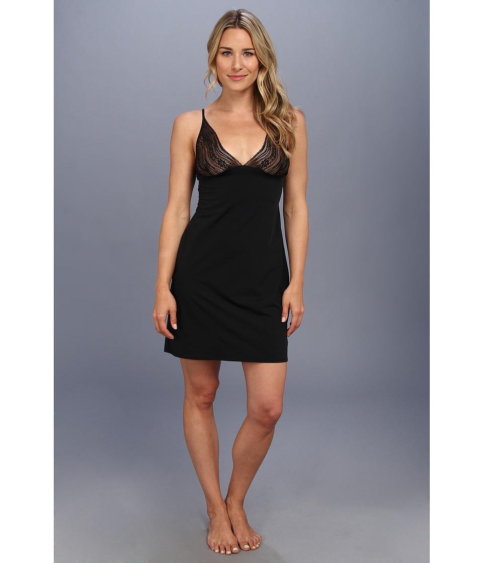 Calvin Klein Underwear - Infinite Lace Chemise (Black) Women's Underwear