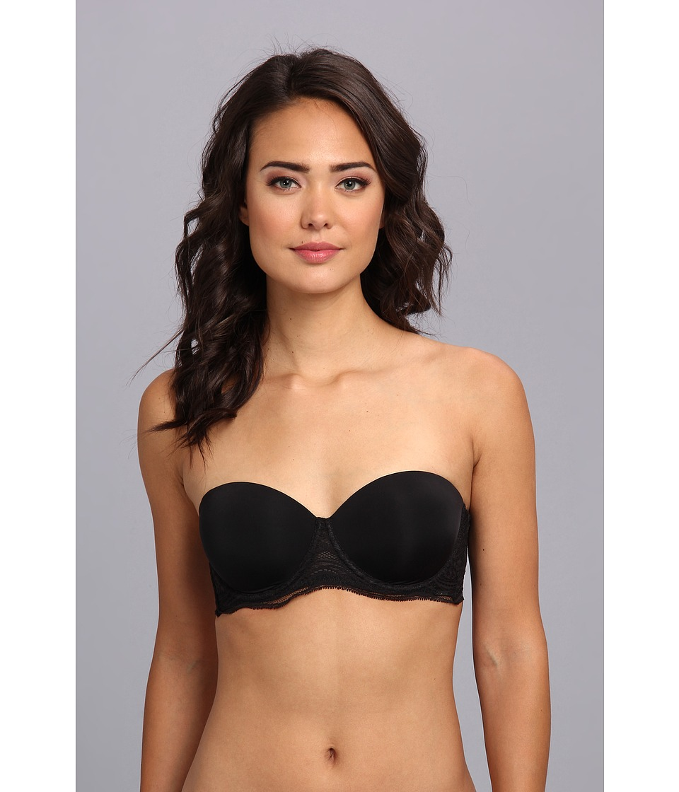 Calvin Klein Underwear - Infinite Lace Multi-Way Push Up Bra F3796 (Black) Women