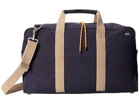 Jack Spade - Narrow Gear Duffle (Navy) Duffel Bags