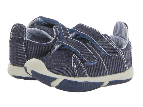 Morgan&Milo Kids - Infant Charlie (Toddler) (Denim) Boy's Shoes