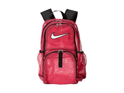 Nike - Brasilia Mesh Large (Vivid Pink/Vivid Pink/White) Backpack Bags