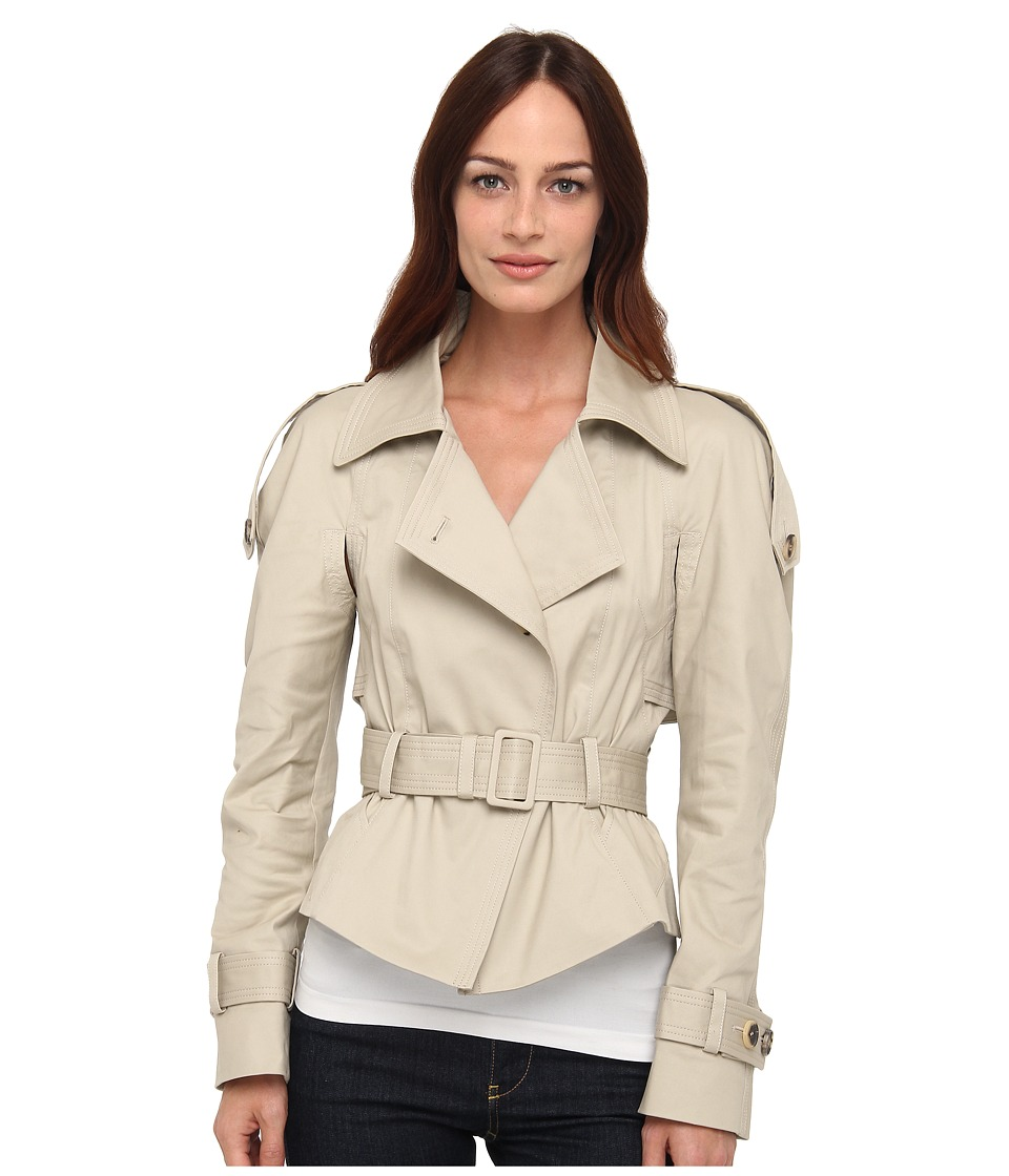McQ - Trench Jacket (Stone) Women