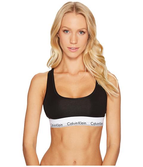 ... UPC 034497985212 product image for Calvin Klein Underwear Modern Cotton  Bralette F3785 (Black) Women s ... 15d871743b