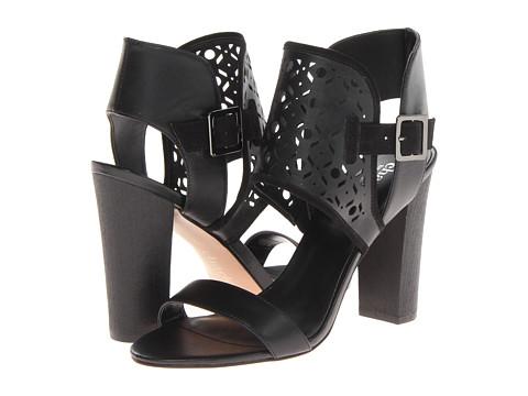 Charles by Charles David - Java (Black Leather/Micro Suede) High Heels