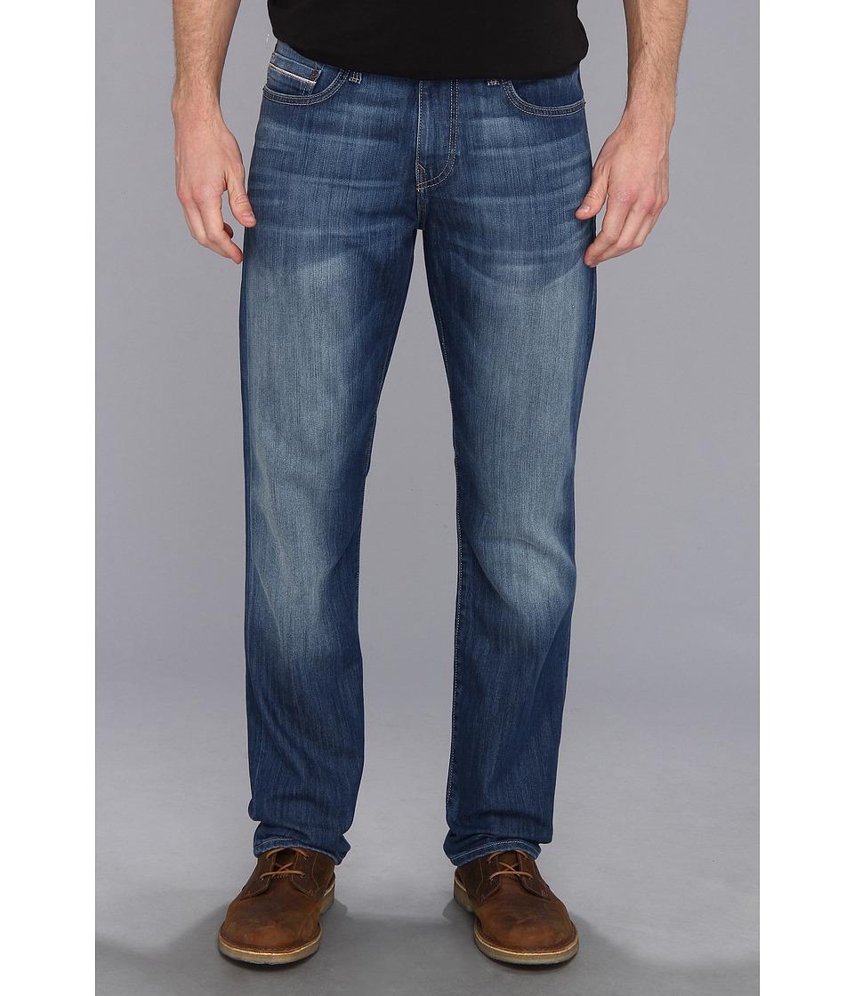 Mavi Jeans - Myles Mid-Rise Straight Leg in Mid Yaletown (Mid Yaletown) Men's Jeans