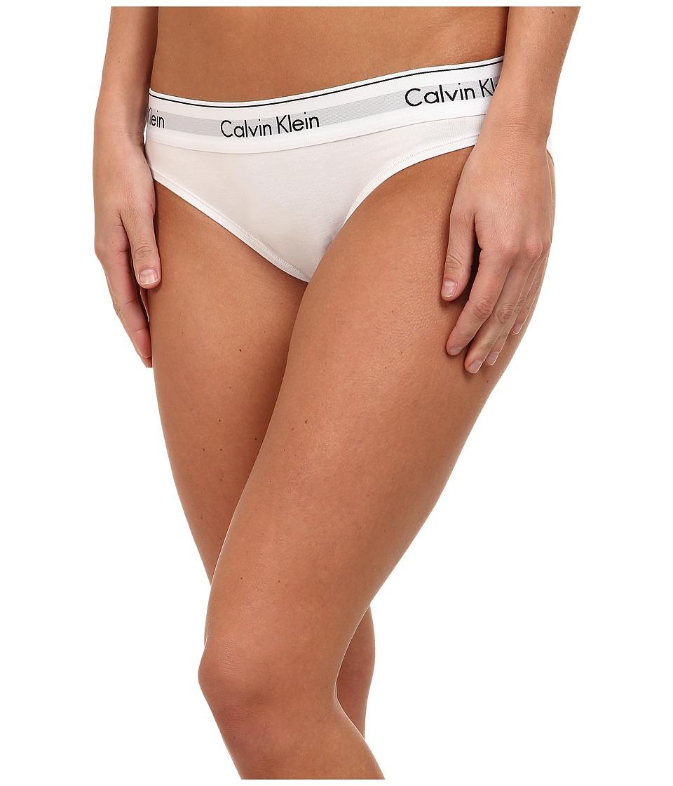 Calvin Klein Underwear - Modern Cotton Bikini (White) Women's Underwear