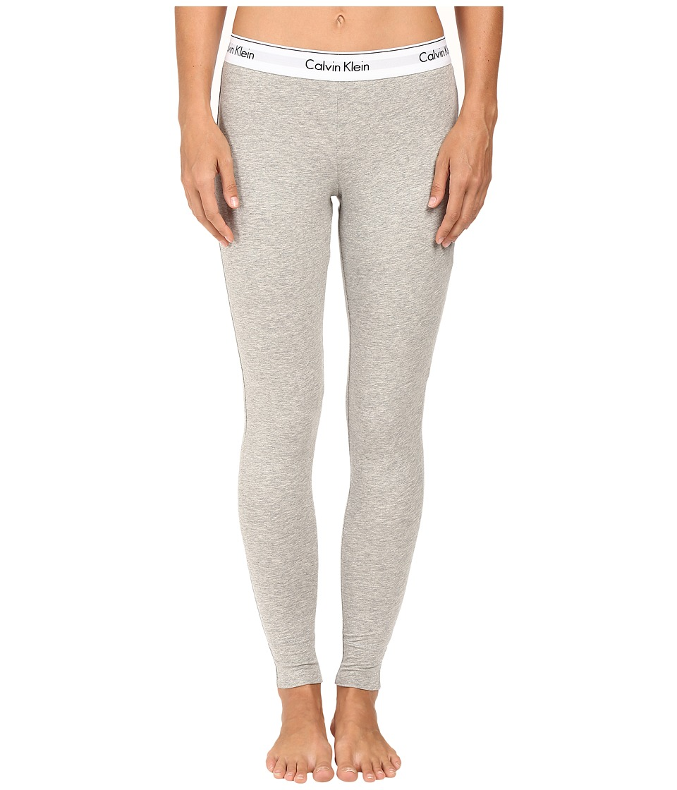 Calvin Klein Underwear - Modern Cotton Legging (Grey Heather) Women's Underwear