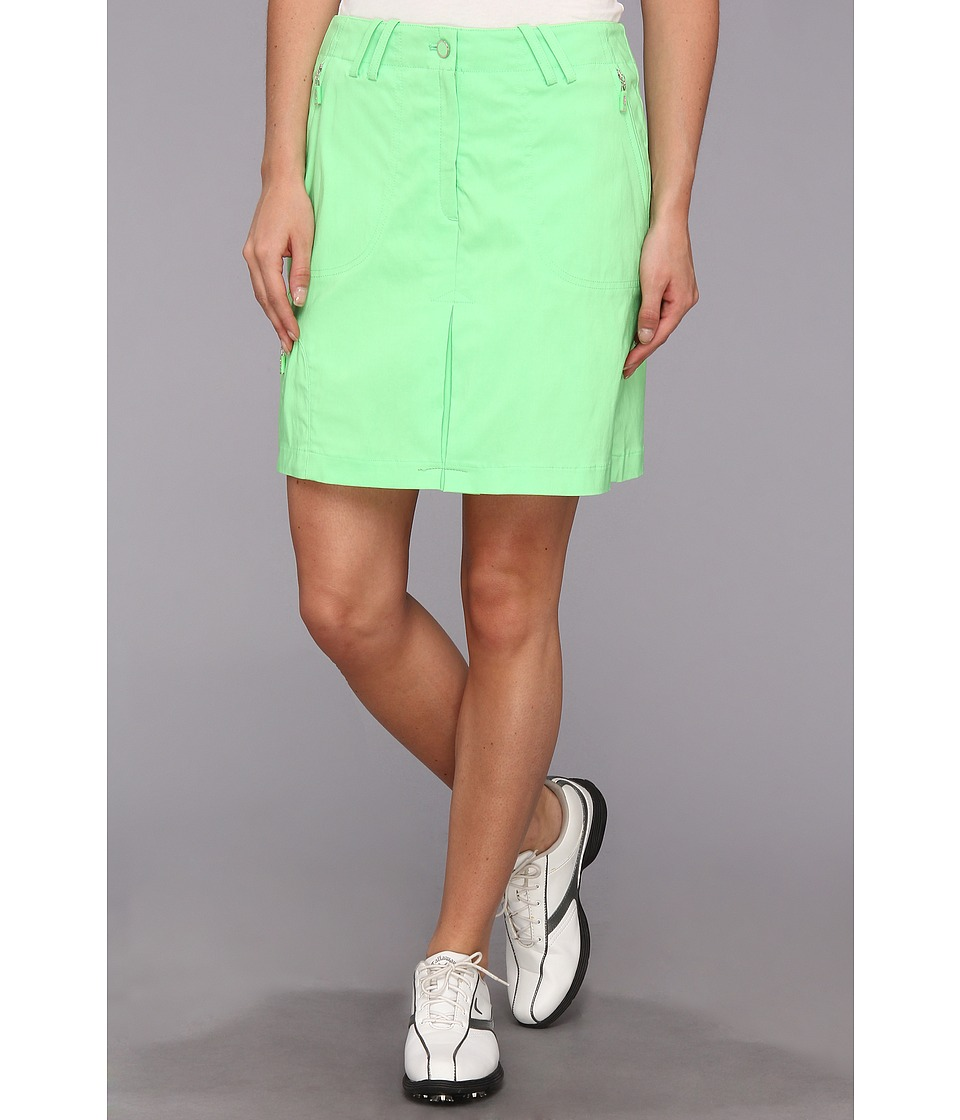 DKNY Golf - Carlie 18 Skort (Fiji Green) Women