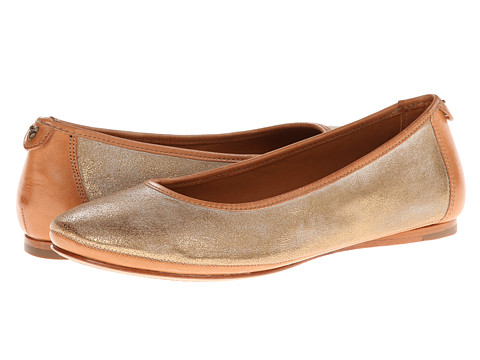 Trask - Piper (Old Gold Metallic Brush Off/Natural Vachetta) Women