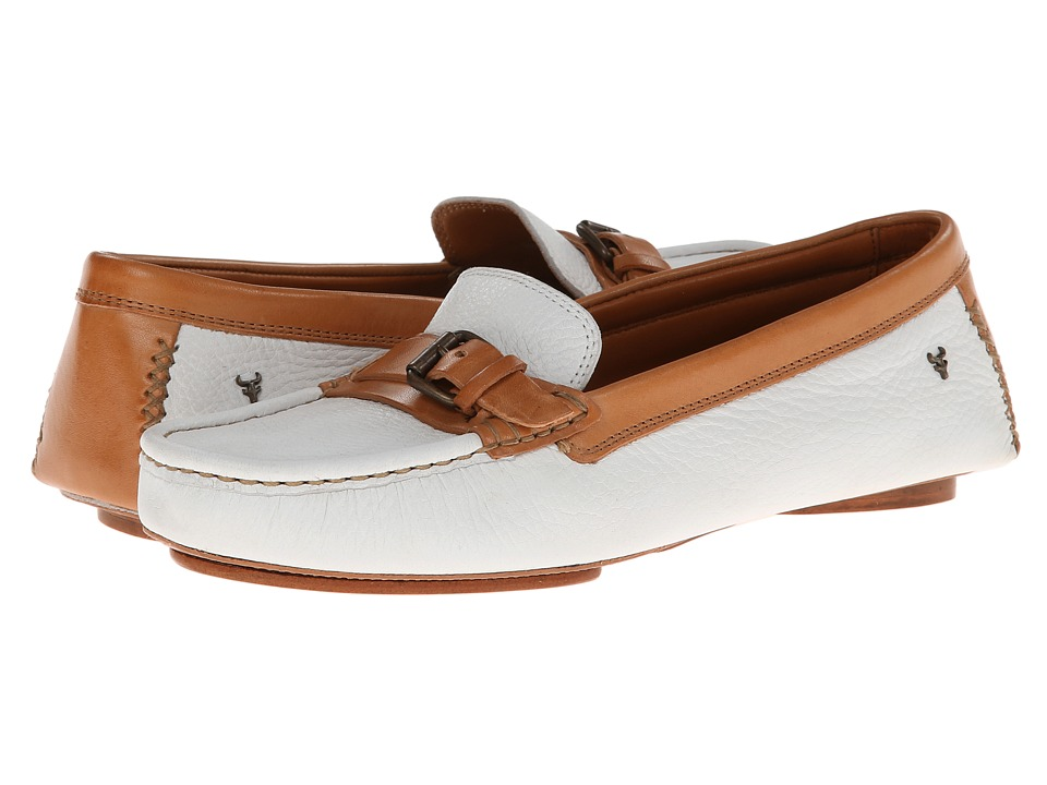 Trask Kara (White Elk/Dark Natural Vachetta) Women