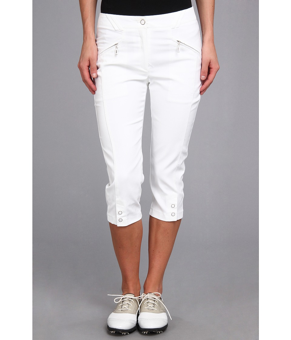 DKNY Golf - Jean 28.5 Pedal Pusher (Sugar White) Women's Capri