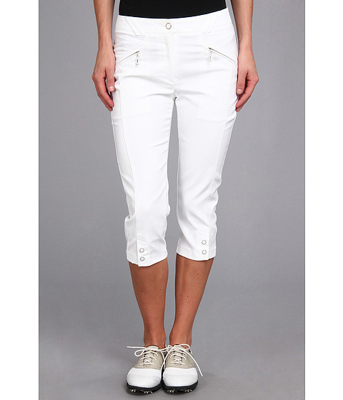 DKNY Golf - Jean 28.5 Pedal Pusher (Sugar White) Women