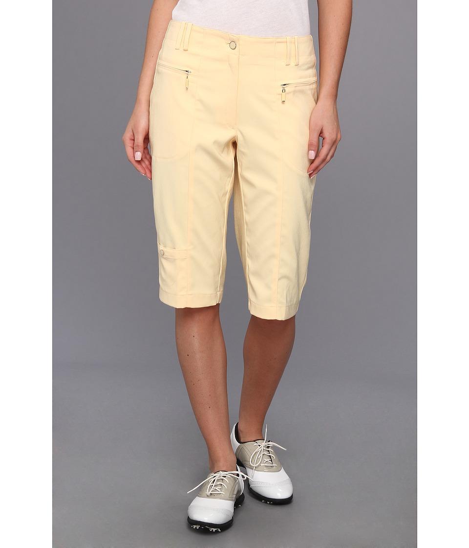 DKNY Golf - Candi 24 Knee Capri (Buttermilk) Women's Capri