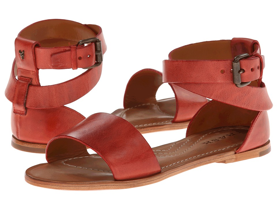 Trask - Keira (Red Vintage Steer) Women's Sandals