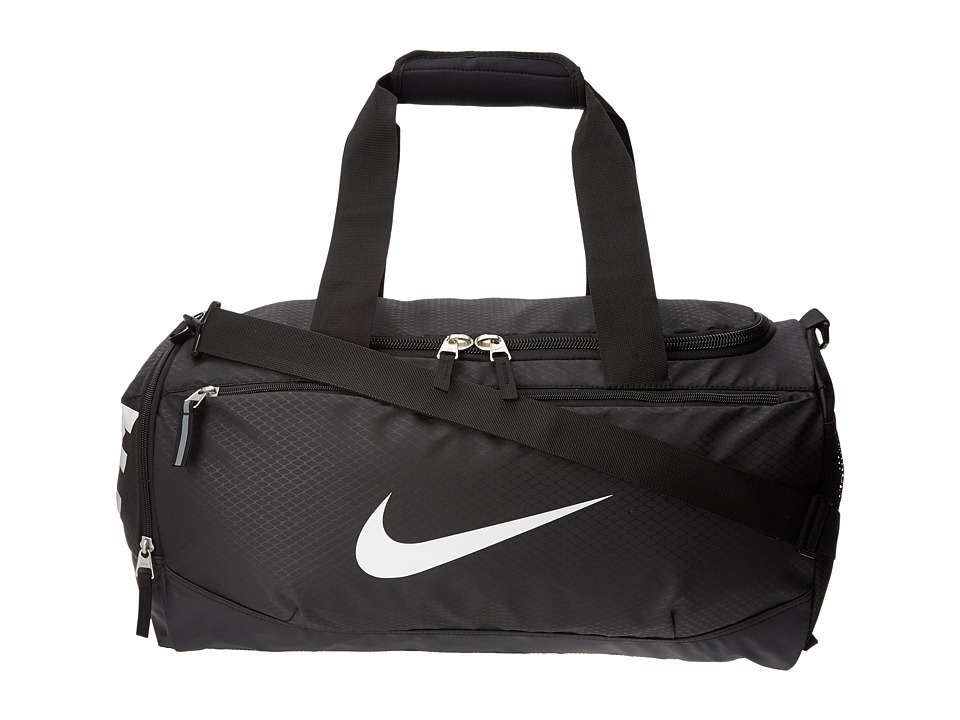 Nike - Team Training Max Air Small Duffel (Black/Black/White Multi Snake) Duffel Bags